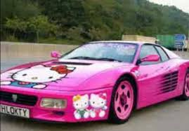 coche-hello-kitty